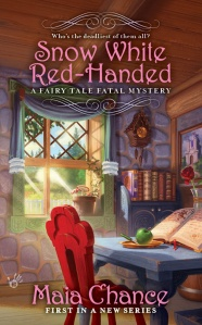 "Book cover image for ""Snow White Red-Handed"" by Maia Chance"