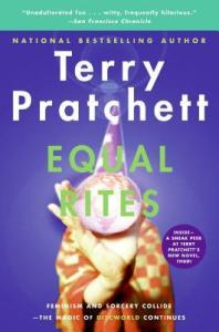 Book cover image for Equal Rites by Terry Pratchett