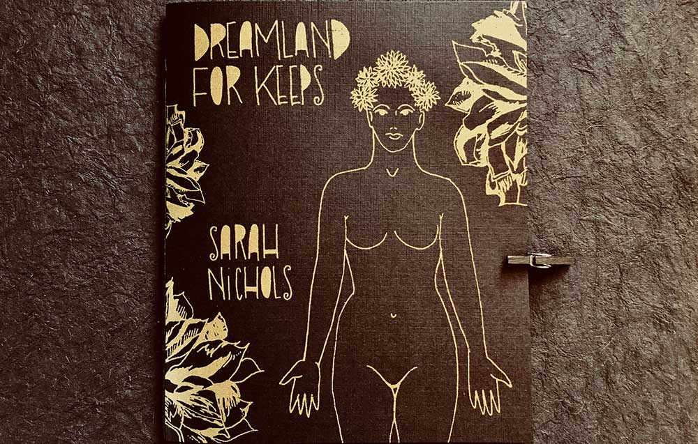 Cover image for the chapbook Dreamland for Keeps