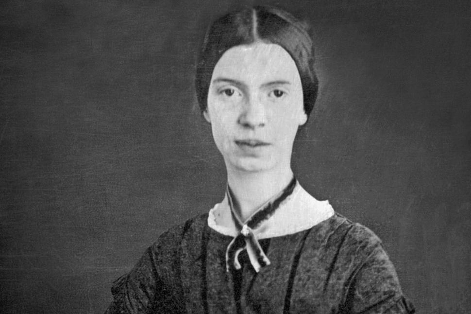 Photograph of poet Emily Dickinson